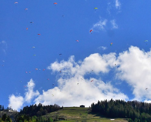 Paragliding Fluggebiet Hochkössen